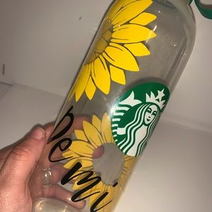 Custom Starbucks water bottle